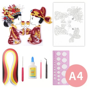 Quilling Teparty  A4
