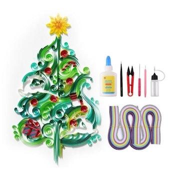 Quilling Christmas Tree A4 - Leveranstid 1-3 Dagar