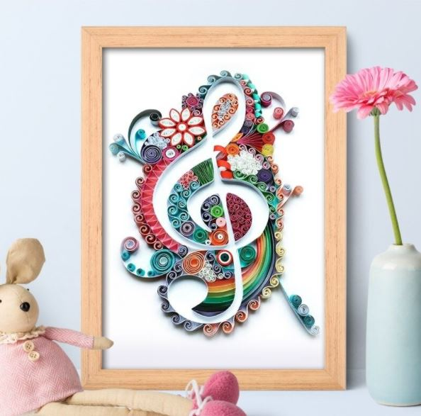 Quilling Music A4