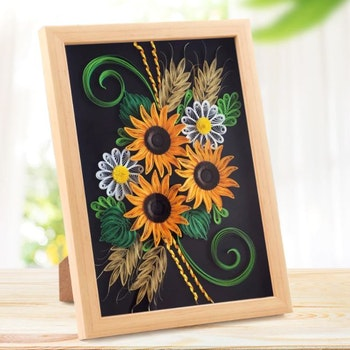 Quilling Sunflowers A4