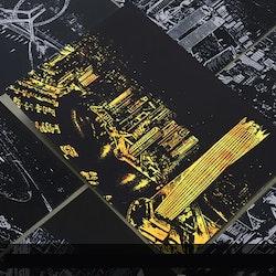 Scratch Painting Dubai 41x28,7 cm - Leveranstid 1-3 Dagar
