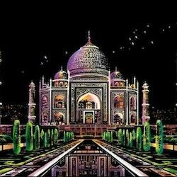 Scratch Painting Taj Mahal 41x28,7 cm - Leveranstid 1-3 Dagar