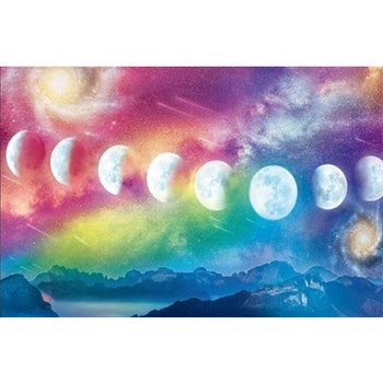 Diamanttavla Moons 50x70 - Leveranstid 1-3 Dagar