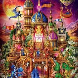 Diamanttavla Fantacy Castle 70x90 - Leveranstid 1-3 Dagar