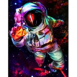 Diamanttavla Color Spaceman 50x70 - Leveranstid 1-3 Dagar