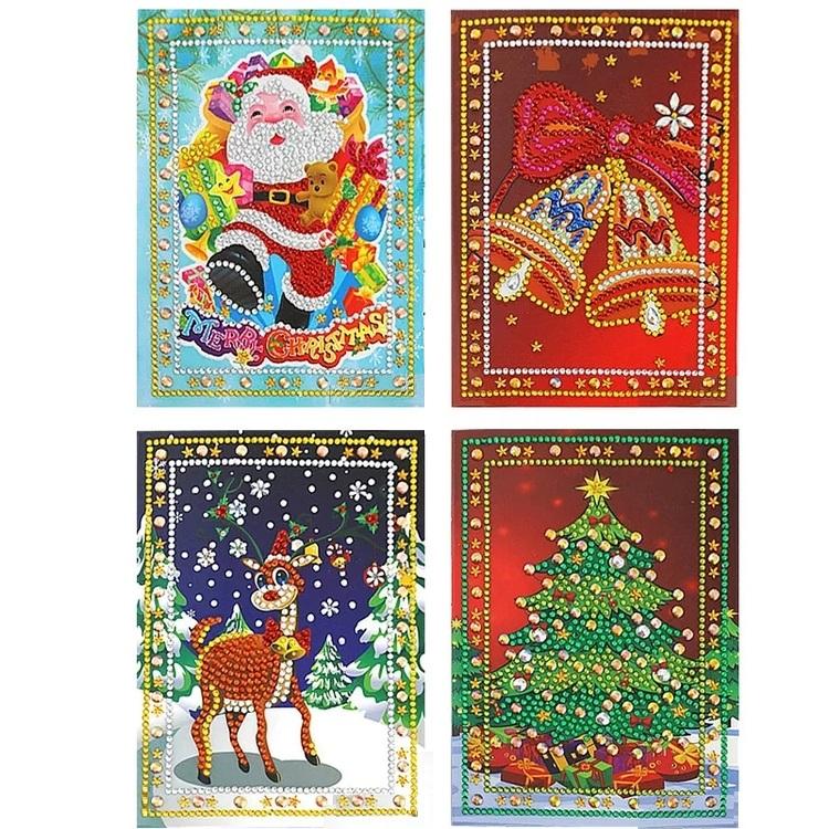 Julkort 4-Pack 13x18 cm - Leveranstid 1-3 Dagar