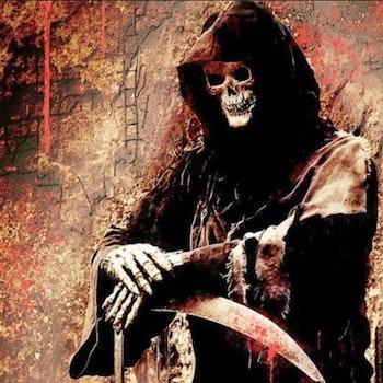 Diamanttavla The Reaper 50x50 - Leveranstid 1-3 Dagar