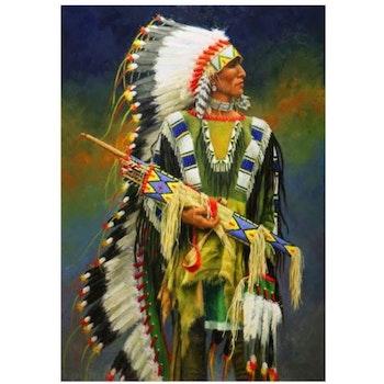 Diamanttavla Indian Arrows 50x70 - Leveranstid 1-3 Dagar