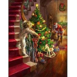 Diamanttavla Christmas Night 60x80 - Leveranstid 1-3 Dagar
