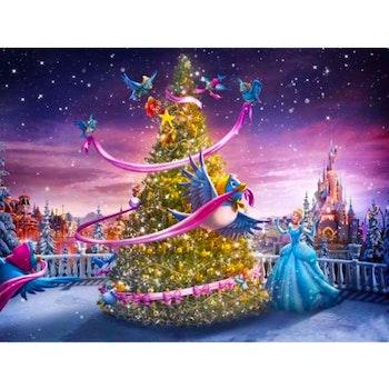Diamanttavla Fairytale Christmas 50x70 - Leveranstid 1-3 Dagar