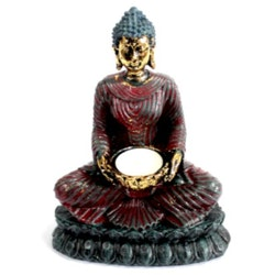 Antique Buddha Teljushållare  - Leveranstid 1-3 Dagar
