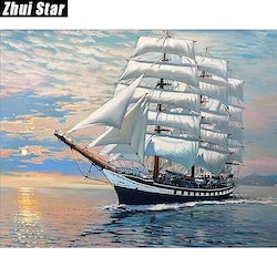 Diamanttavla Sailor 40x50