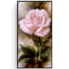 SNART I BUTIK - Diamanttavla (R) Pink Rose 30x40