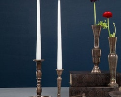 Ljusstake Al i Coppar Aluminuim 15x22 cm