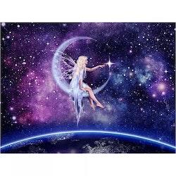 Diamanttavla Fairy Galaxy 40x50