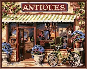 Paint By Numbers Little Shop 40x50