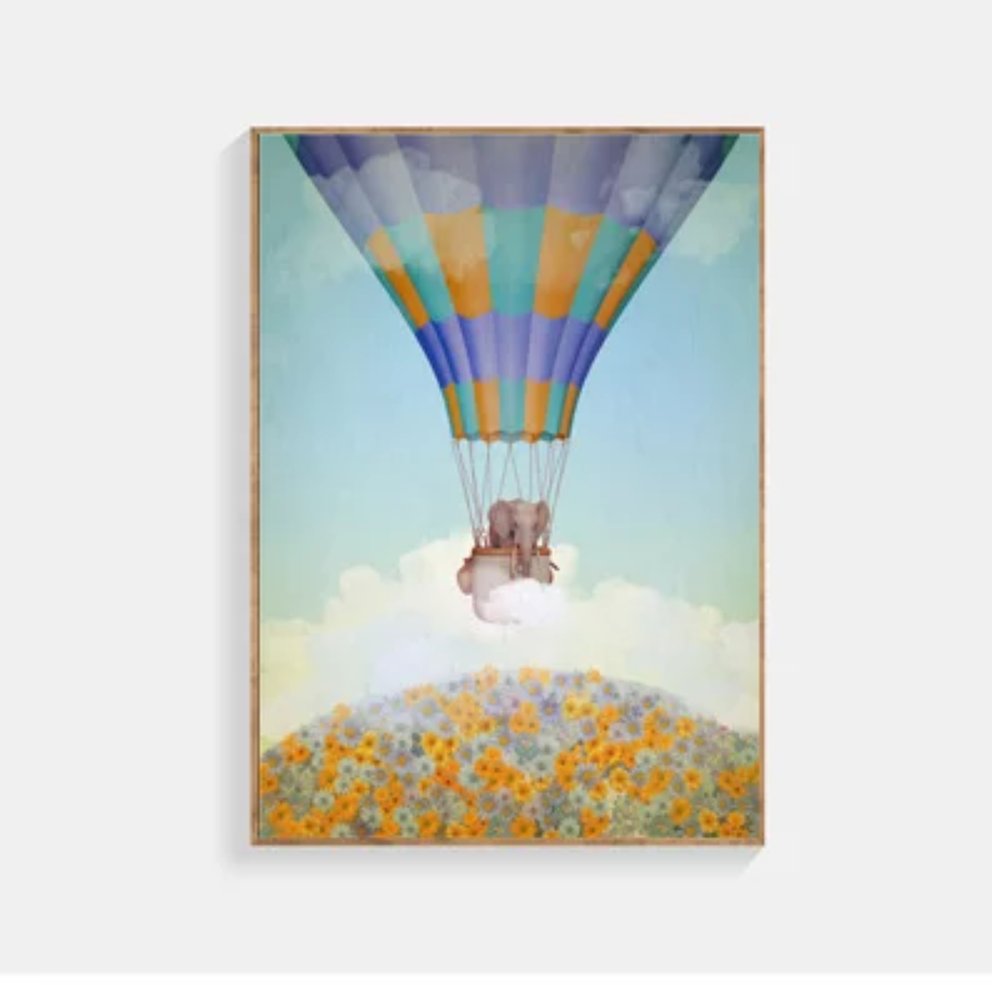 Poster Elephant In The Sky 30x40