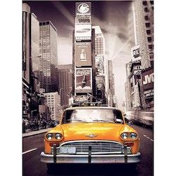 SNART I BUTIK - Diamanttavla New York Cab 40x50