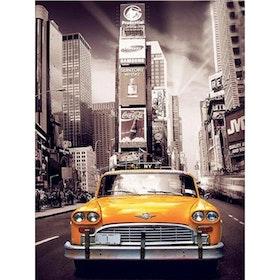 Diamanttavla New York Cab 40x50