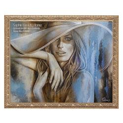Diamanttavla Beautiful Woman 40x50
