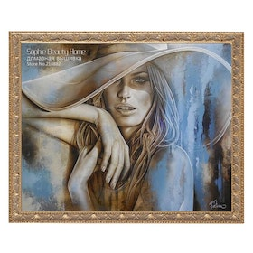 Diamanttavla Beautiful Woman 40x50