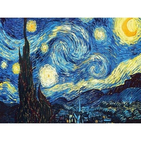 Diamanttavla Starry Night 40x50 cm