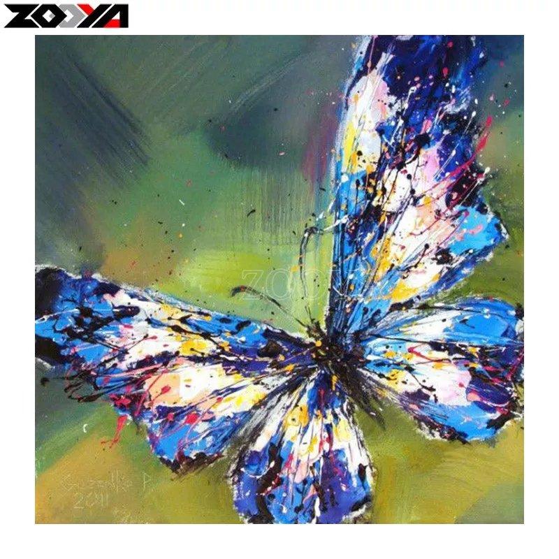 Diamanttavla Beautiful Butterfly  40x40