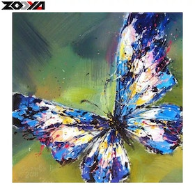 Diamanttavla Beautiful Butterfly  40x40