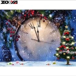 Diamanttavla Time For Christmas 40x50