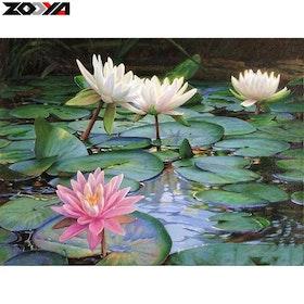Diamanttavla(R) Lotus 40x50