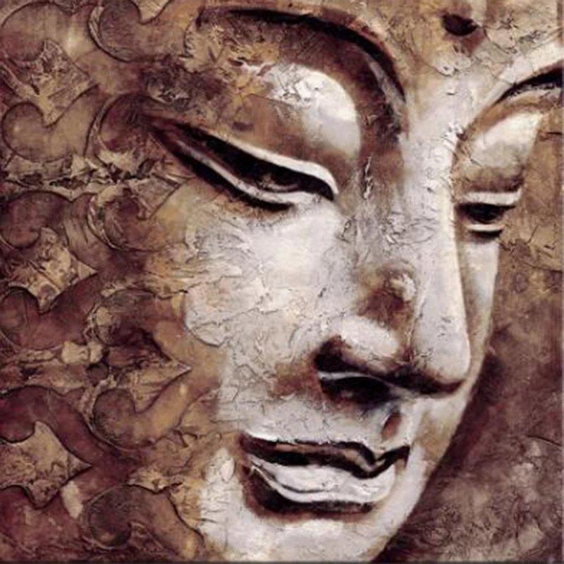 Diamanttavla Buddha (R) 40x40