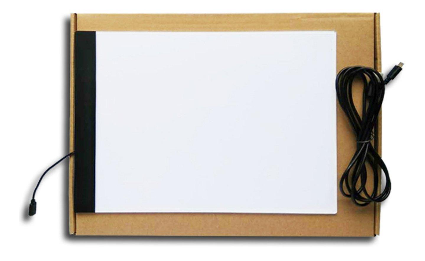 Ljusplatta A4-format Med 3 Ljuslägen