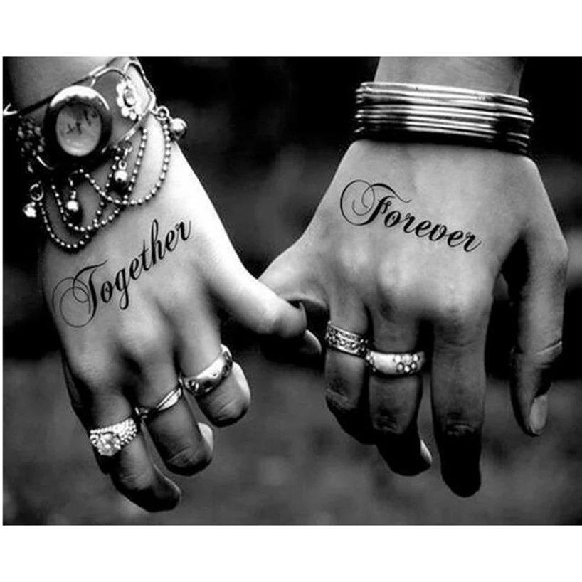 Diamanttavla (R) Together Forever 40x50