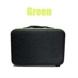 Pärlförvaring Väska Grön Med  60 Burkar