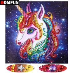 Diamanttacka Special Color Unicorn 25x25
