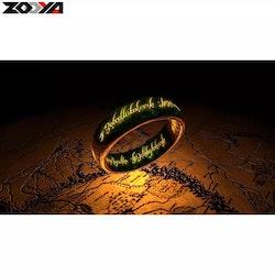 SNART I BUTIK -Diamanttavla Ring Of The Lord 40x50