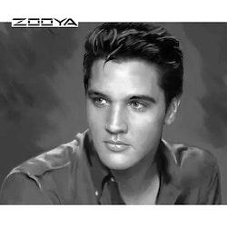 Diamanttavla Elvis The Star 40x50
