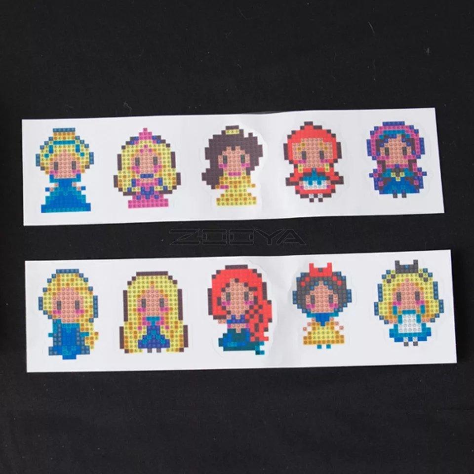 Stickers Princesses 10 st
