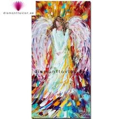 Diamanttavla (R) Color Angel 40x80