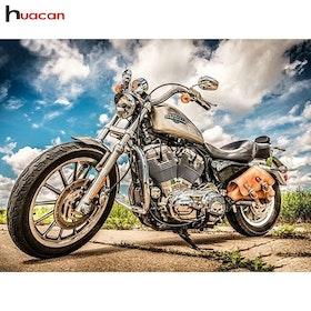 Diamanttavla Motorcycle 40x50