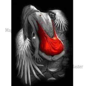 Diamanttavla Angel Without Wings 40x50