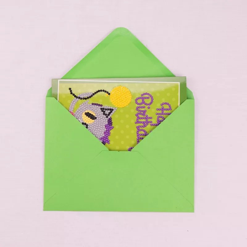 Diamanttavla (R) Kort Födelsedag 5-Pack