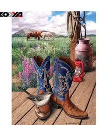 Diamanttavla Boots 40x50