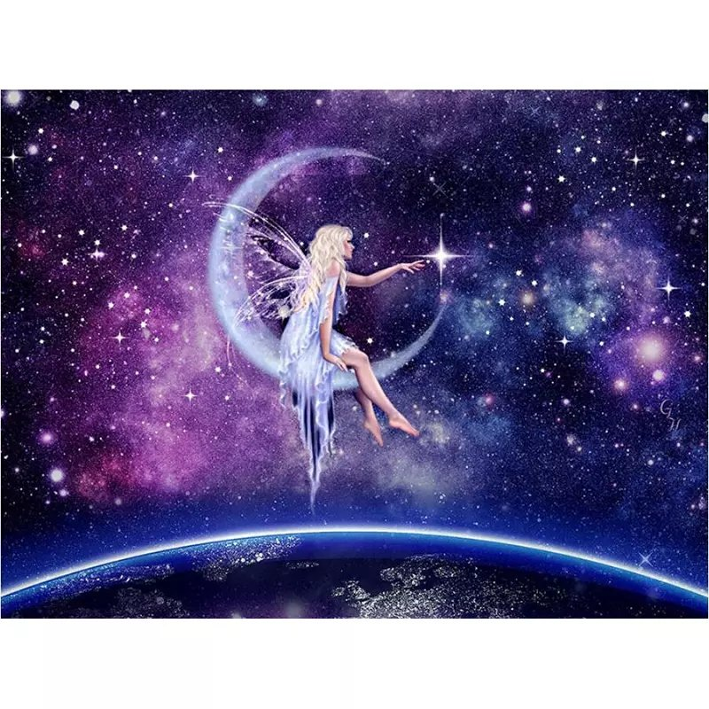 SNART I BUTIK - (R) Fairy Galaxy 40x50