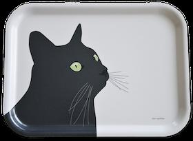 Bricka Svarta Katten 4 st