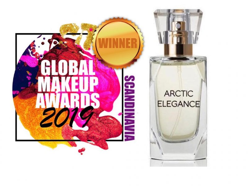 Arctic Elegance GULD-vinnare i Bästa Parfym  Global Makeup Awards: Scandinavia