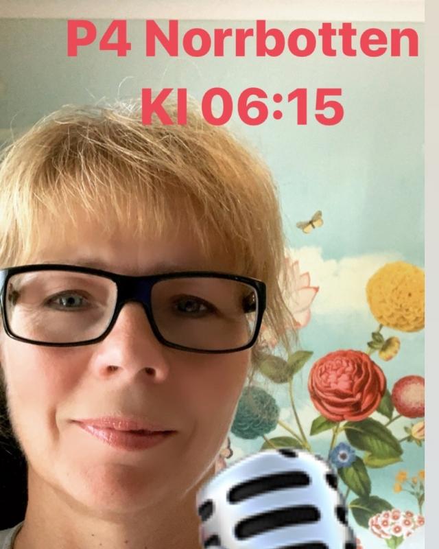Intervju i P4 Norrbotten