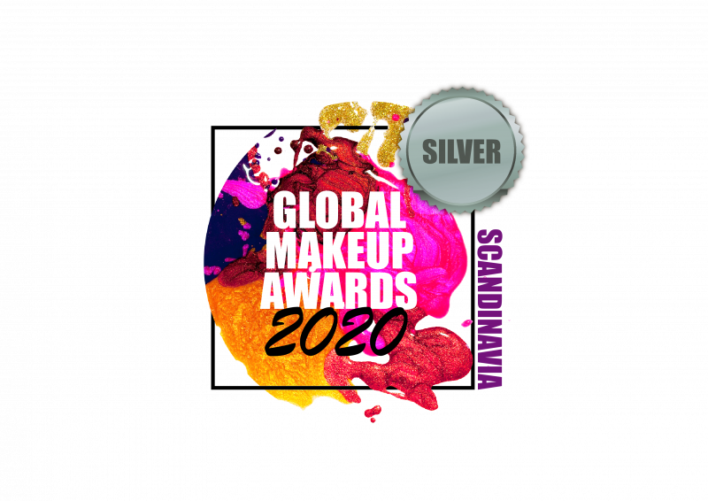 Vi vann Silverplats BEST SCANDINAVIAN BEAUTY BRAND, Global MakeUp Awards 2020