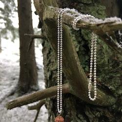 Halsband med pärla