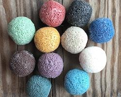 Lavapärla 16mm färg